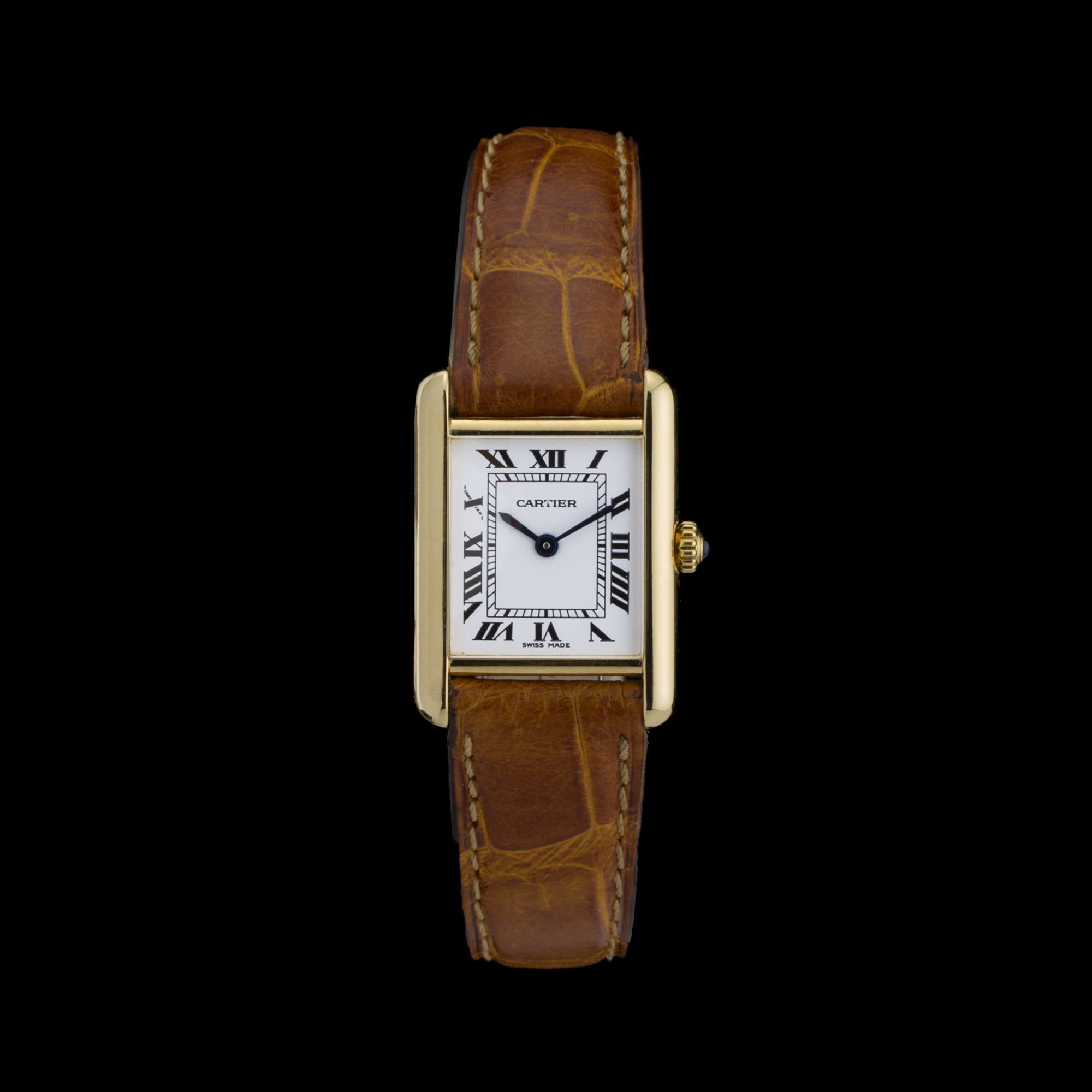 watch rose jpeg cartier steel product london tank watches center solo