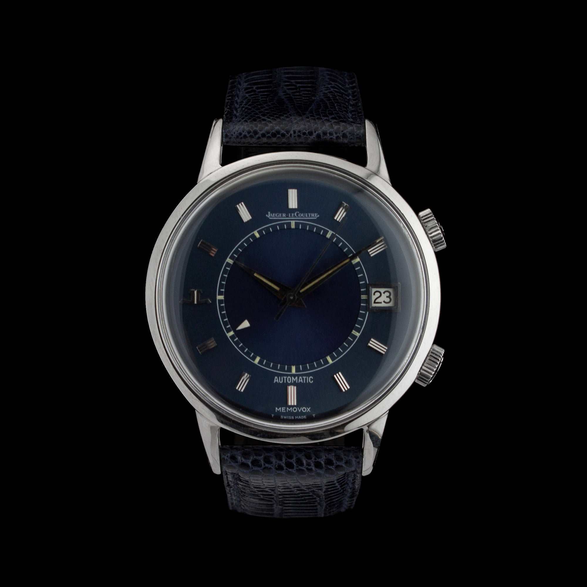 Jaeger lecoultre memovox speedbeat amsterdam vintage watches for Lecoultre watches