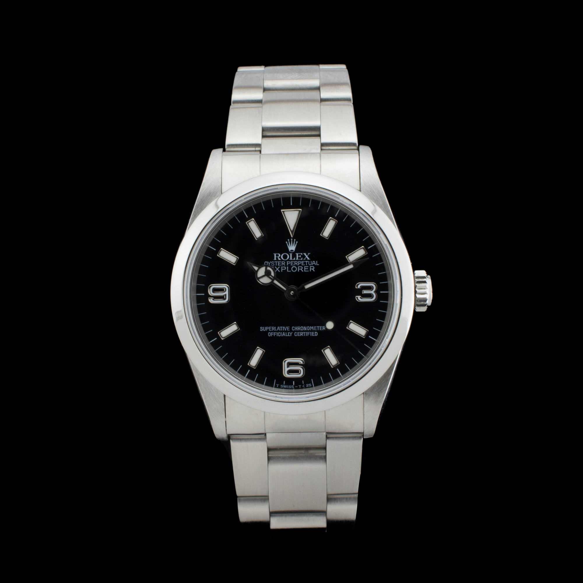 ii of lancashire explorer stainless steel watches rolex