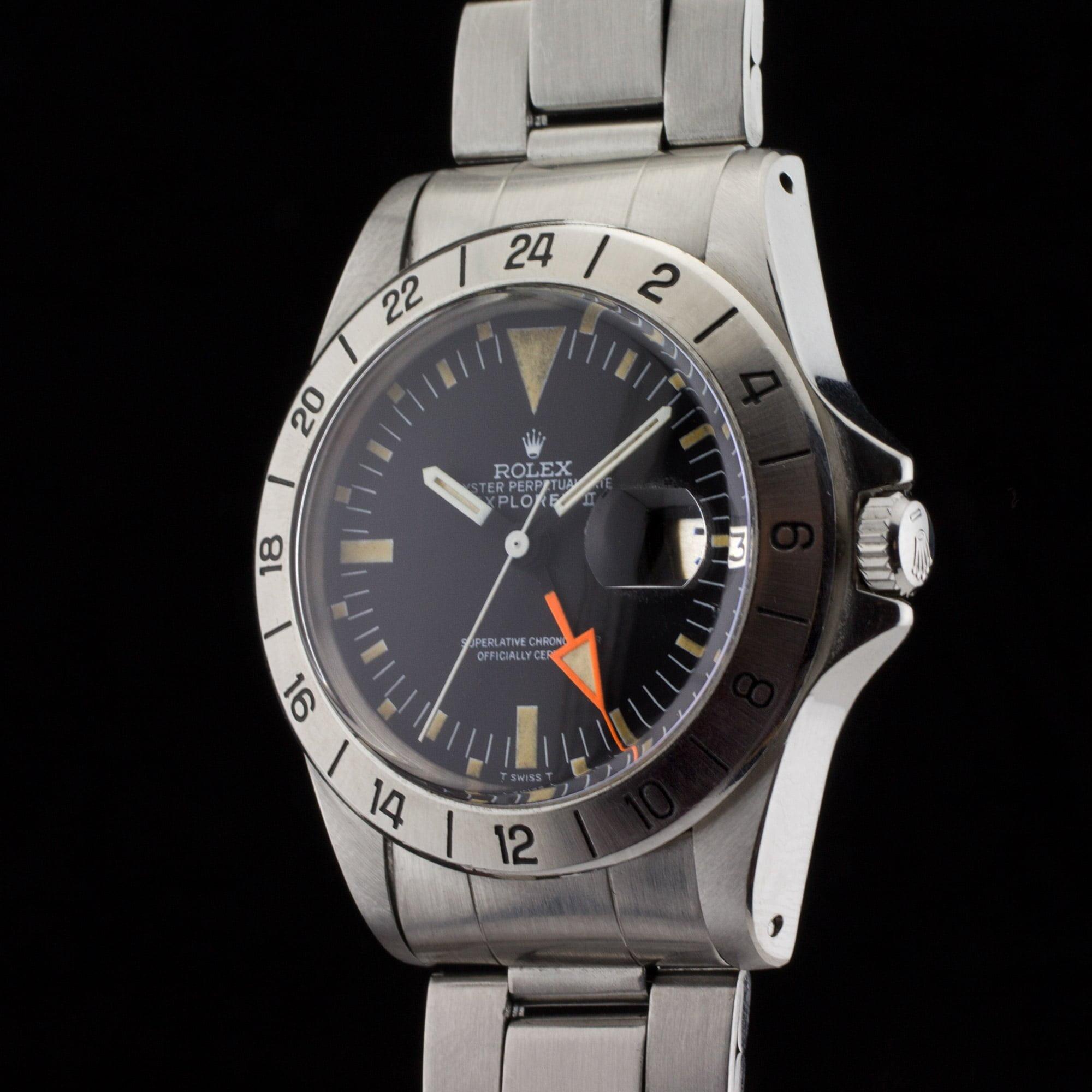 """Rolex Explorer II 1655 """"Freccione straight hand ..."""