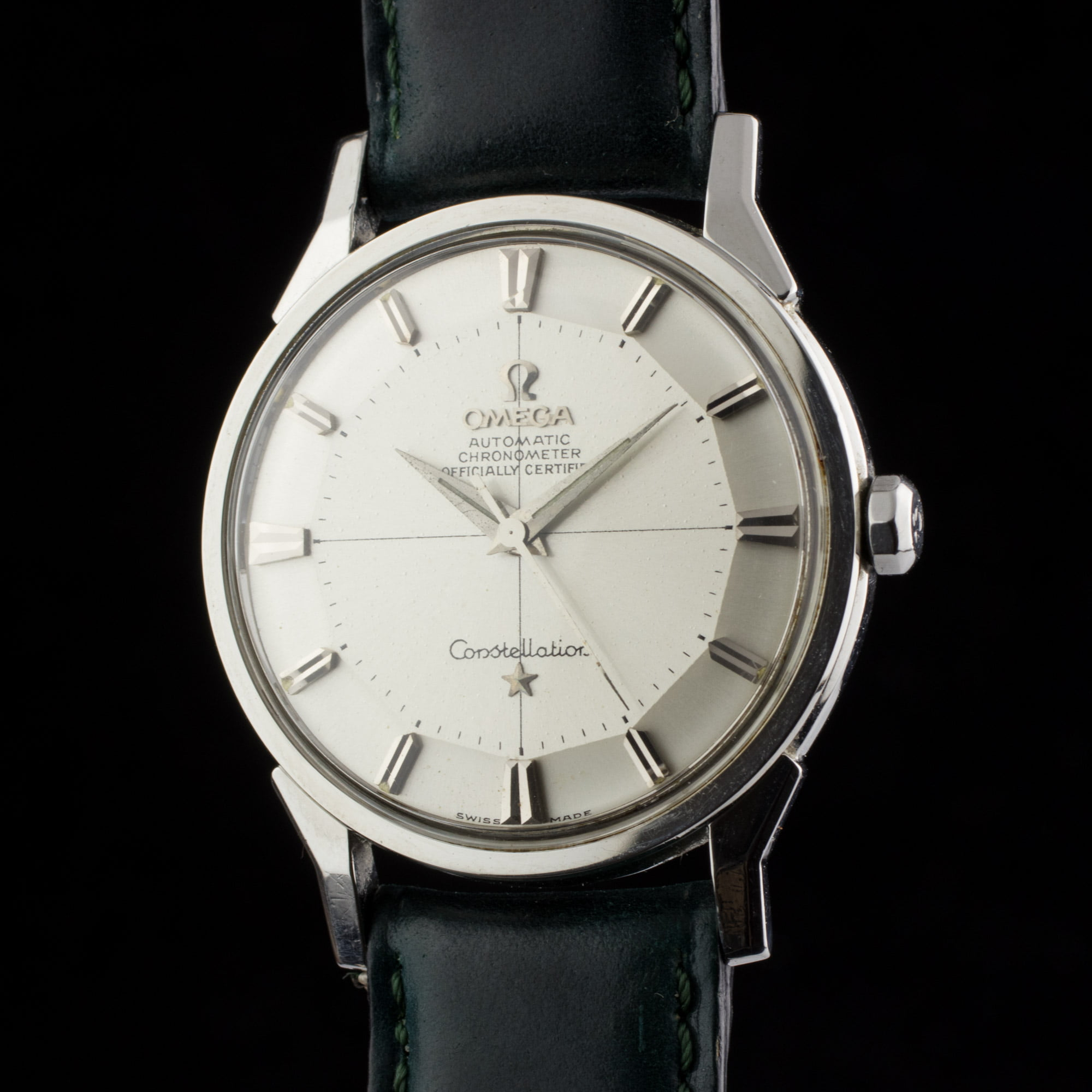 Omega constellation pie pan amsterdam vintage watches for Omega watch vintage