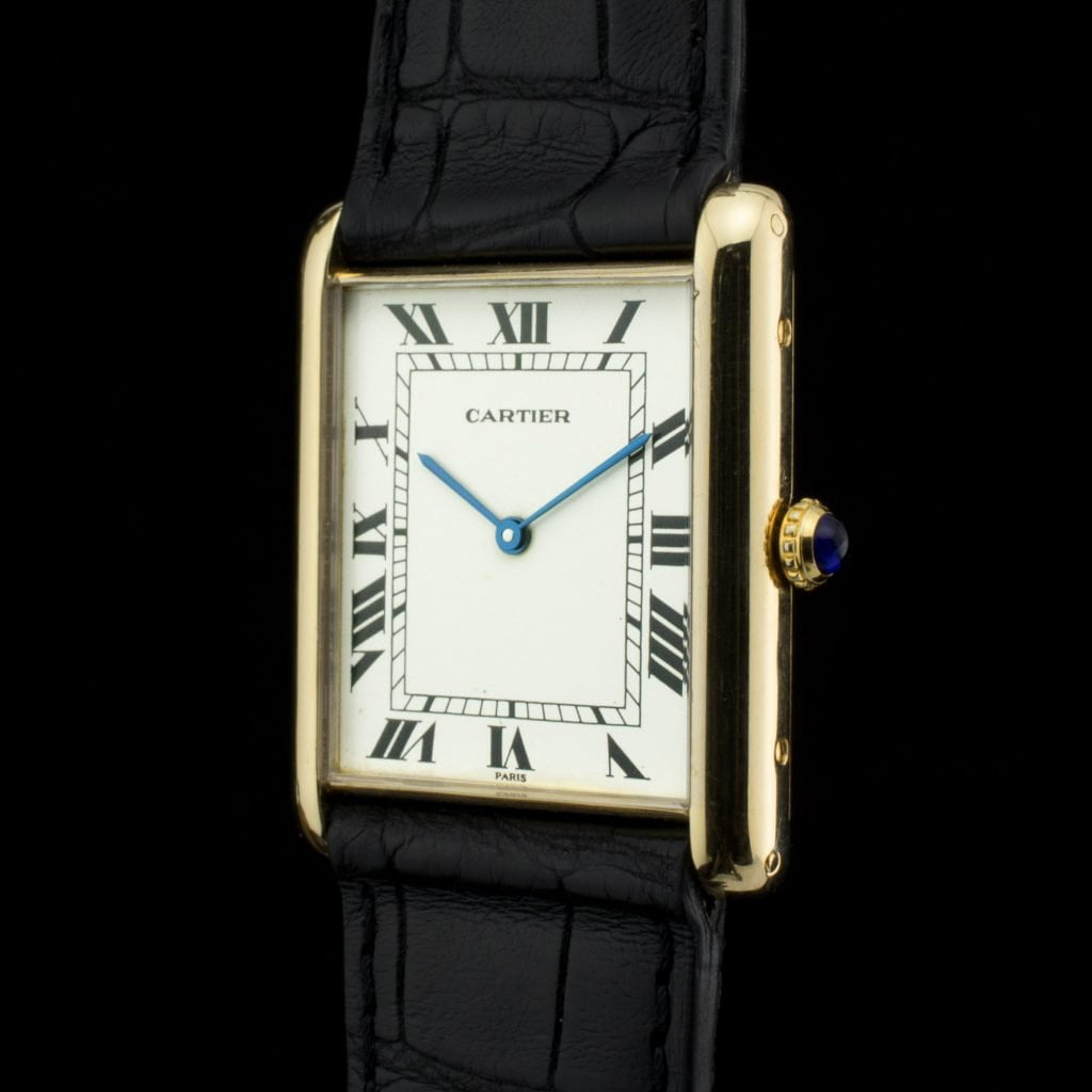 paris vintage cartier watches shop side tank jumbo amsterdam