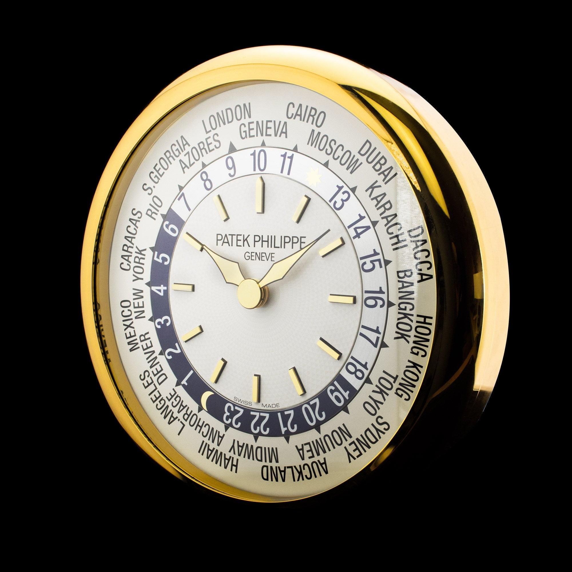 Patek Philippe World Time Wall Clock P228 Amsterdam