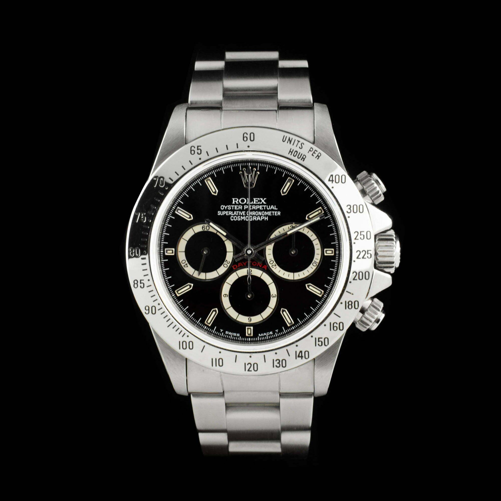 41399299420 Rolex Daytona 16520  Zenith 4-Liner  - AMSTERDAM VINTAGE WATCHES