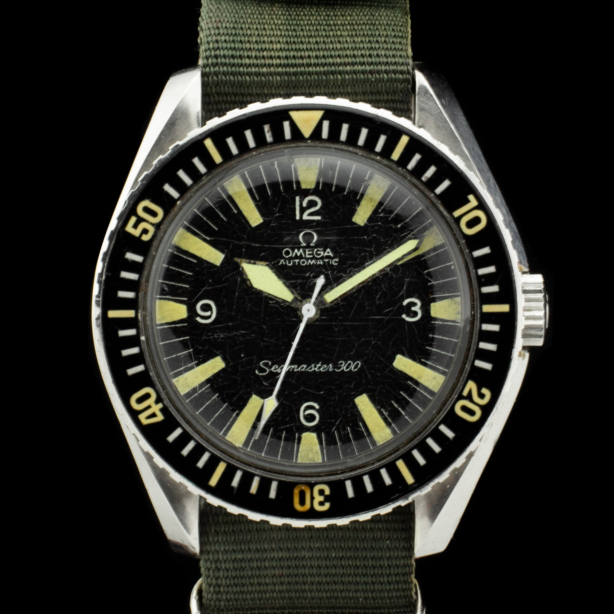 Omega Seamaster 300 Military 165024 Amsterdam Vintage Watches