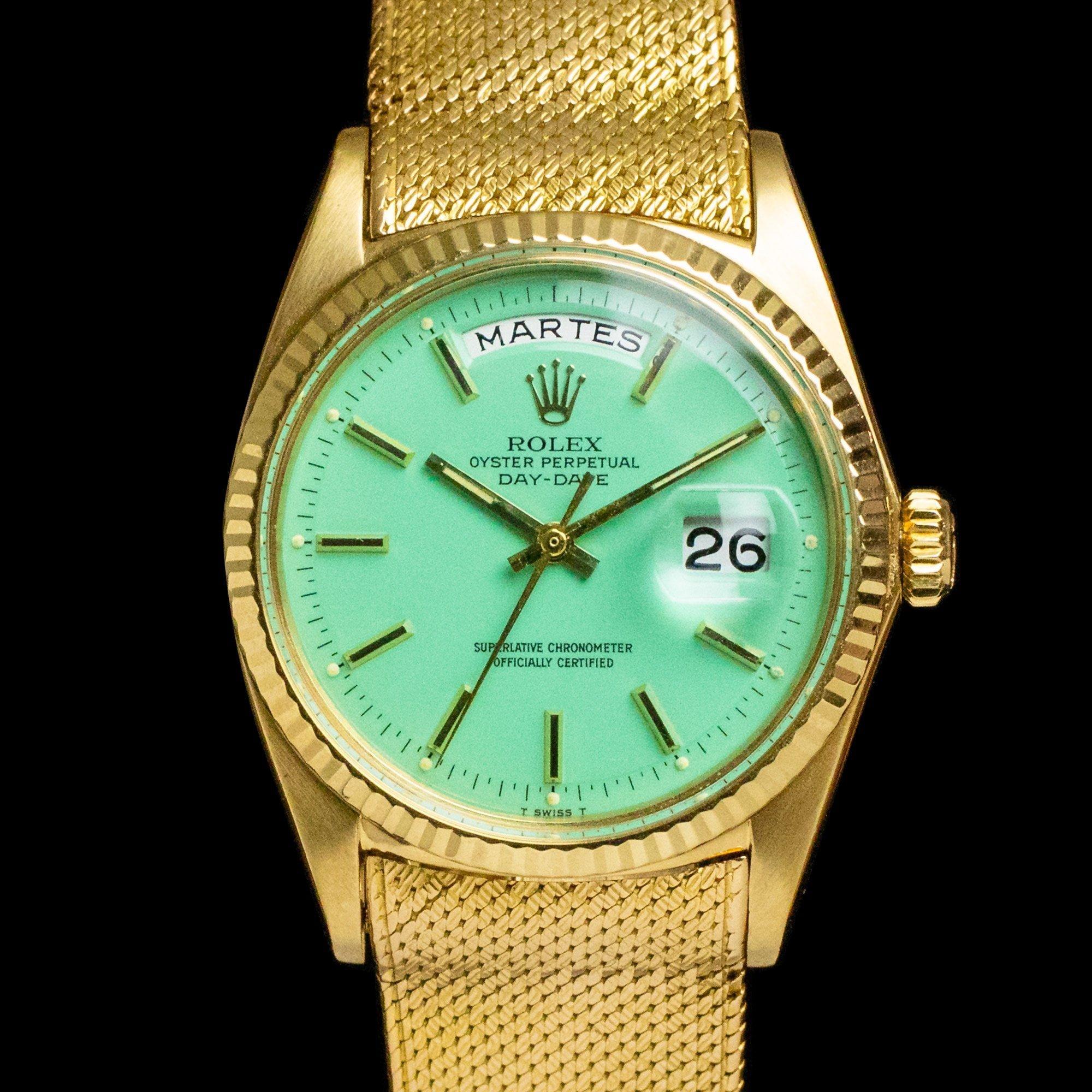 Rolex Day Date 1803 Seafoam Stella Amsterdam Vintage Watches