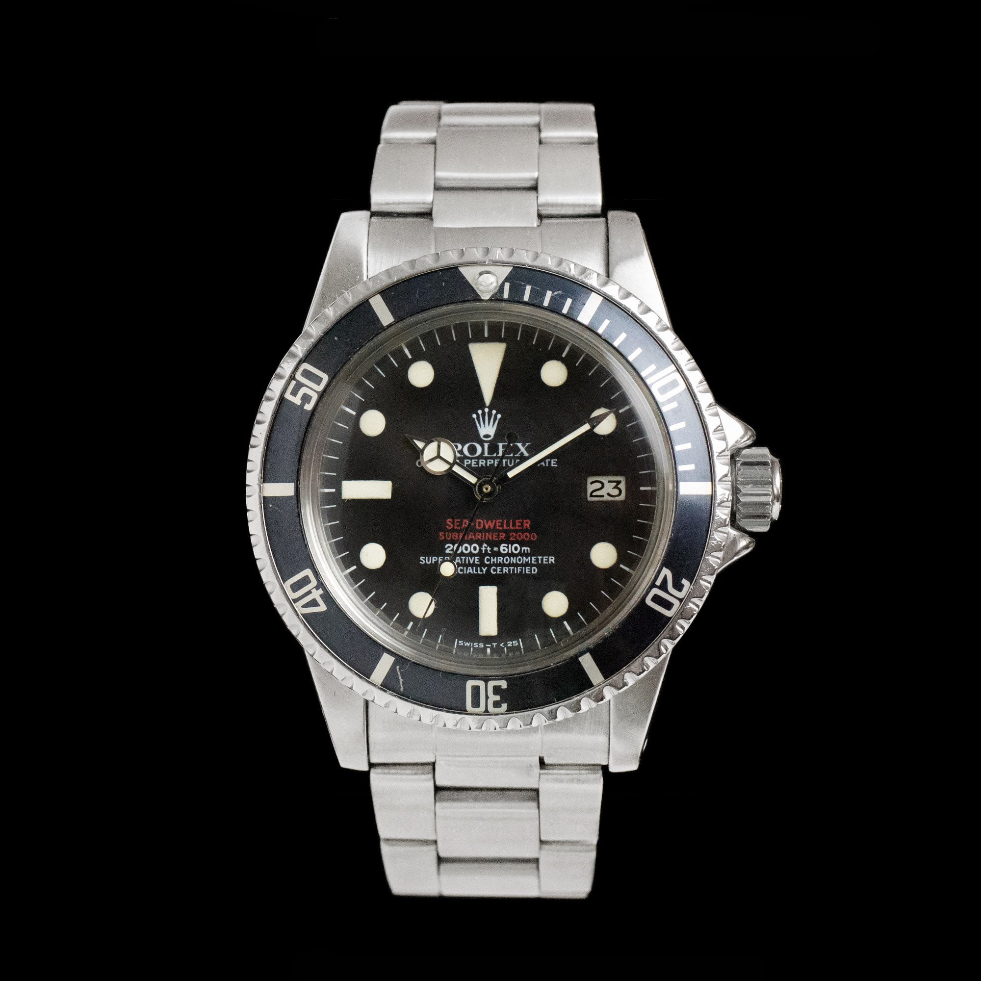 Rolex Sea Dweller 1665 Double Red Mk4 Dial