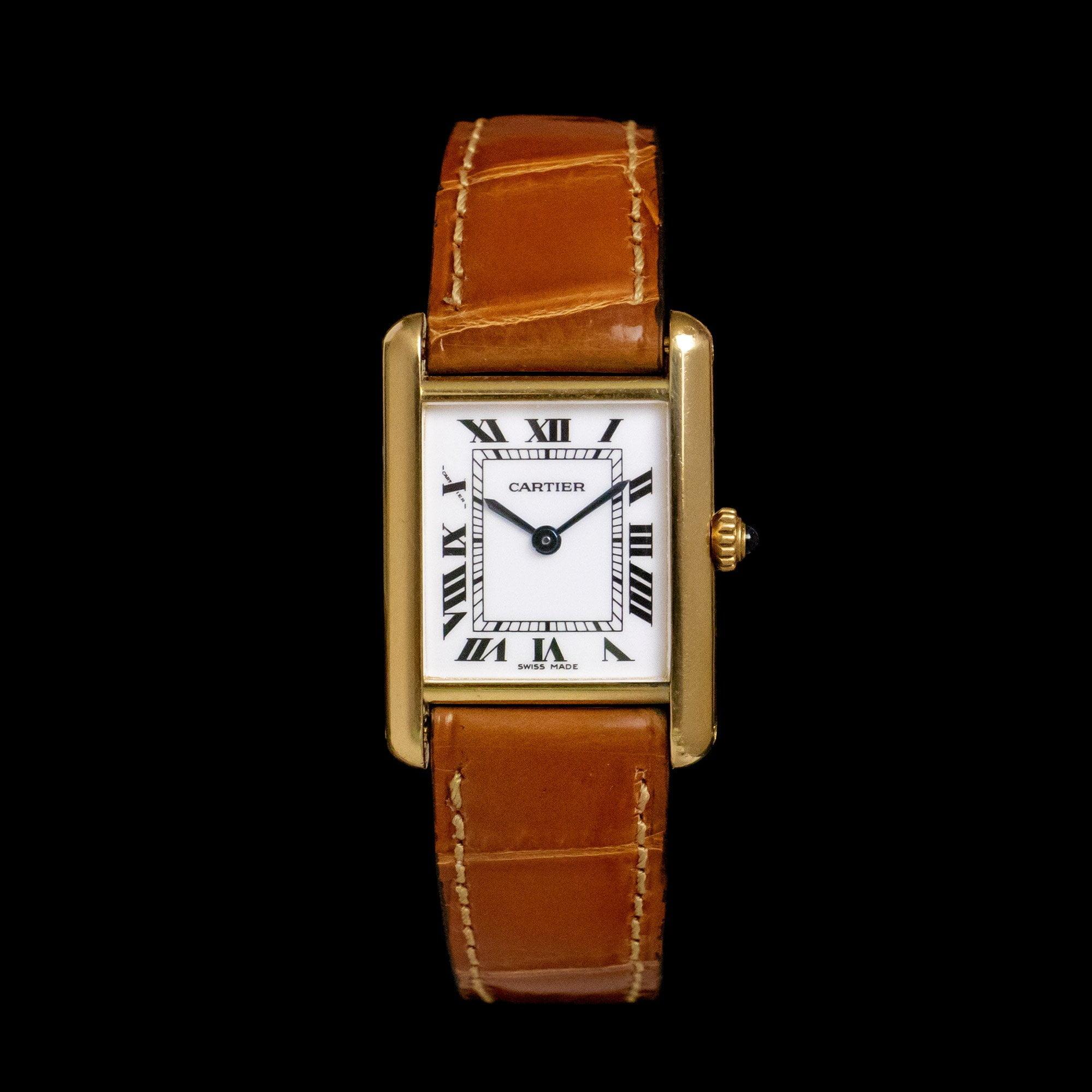 Cartier Tank Louis - AMSTERDAM VINTAGE WATCHES